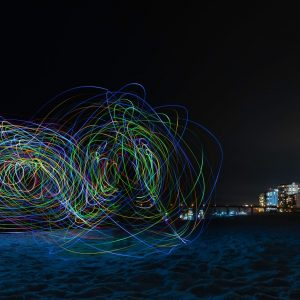 Navarre Light Painting