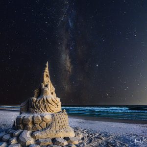 Halloween Sandcastle