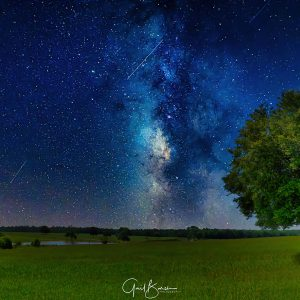 Countryside Milky Way