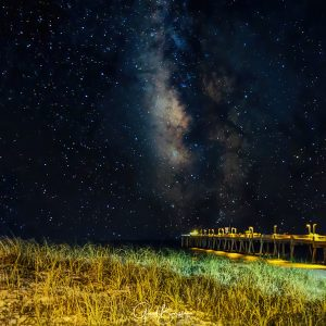 Nighttime Beach