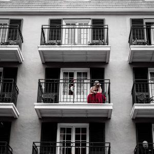 Alone on the Balcony